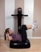 Power Plate: Muskelaufbau und Fettverbrennung in nur 10 Minuten mit der Vibrationsplatte