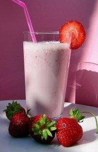 Rezept für einen leichten Frucht Smoothie